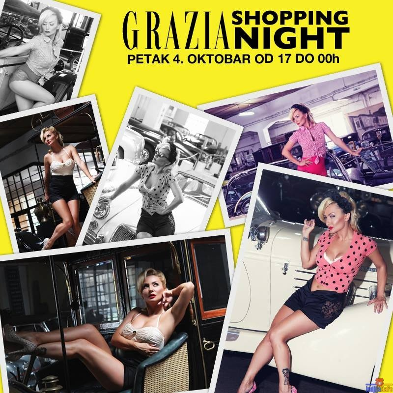 Grazia Shopping Night u Autlet Centru