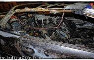 Izgoreo auto u Dunavskoj