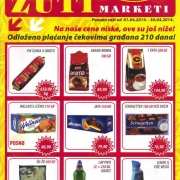 Zuti Dragstor Katalog April 2014