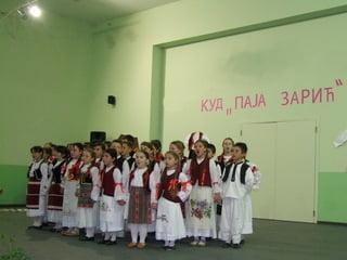 Opštinska smotra decijeg folklornog stvaralastva