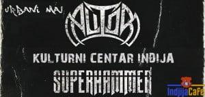 Heavy Metall Koncert KC Indjija