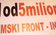 Prvi protest #1 od 5 miliona u Inđiji 1.februara